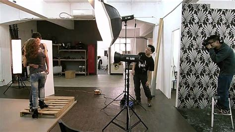 Fashion Photographer Ken Tam | behind the scene in of