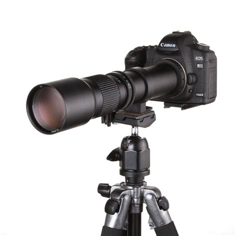 500mm F/8 Super Telephoto Manual Lens for Canon EOS EF 7D