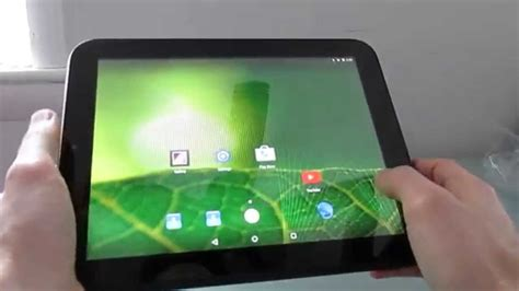 HP TouchPad tablet with Android 5