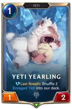 LoR Yeti Yearling Deck Builds | Legends of Runeterra Guide