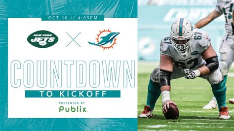 Dolphins Jets Week 6 NFL 2020 Countdown to Kickoff