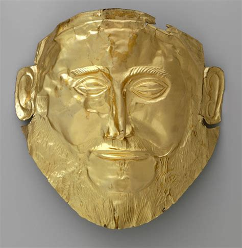 The Mask of Agamemnon: An Example of Electroformed