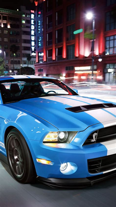 Light Blue Ford Shelby Sport Car - Best htc one wallpapers