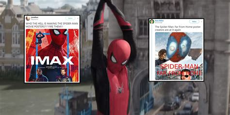 Spider-Man fans redesign Far from Home movie poster over