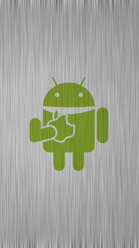 Android eating apple - Best htc one wallpapers, free and