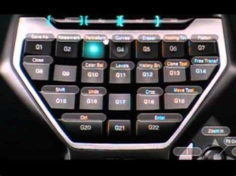 Logitech G13 with Lightroom & Photoshop To Cut Editing