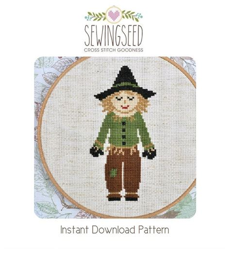 The Wizard of Oz Cross Stitch Pattern Collection Dorothy