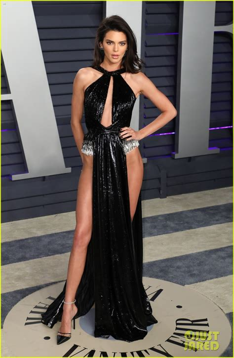 Kendall Jenner's Oscars 2019 Party Look Leaves Little to