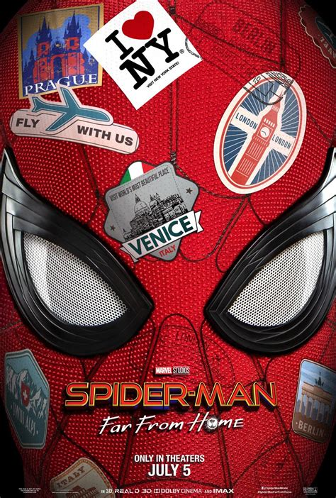Spider-Man: Far From Home (2019) Poster #1 - Trailer Addict